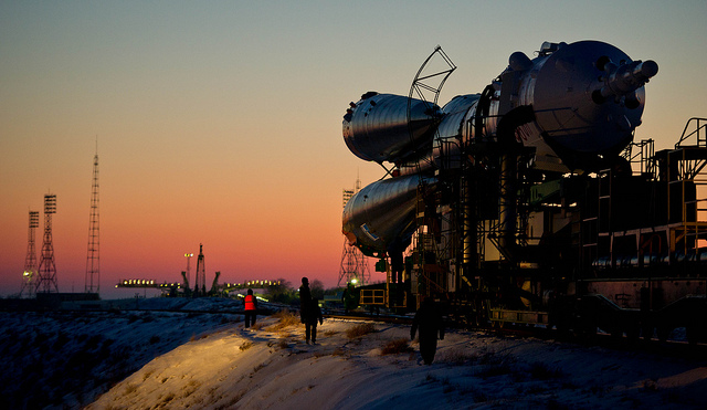 Launch Pad at the Baikonur Cosmodrome