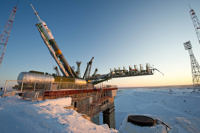 Soyuz TMA-03M Lifted