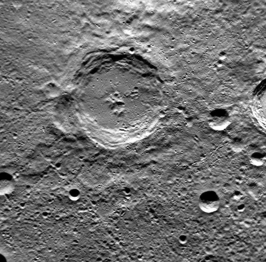 A Mercury Christmas (Crater) Carol