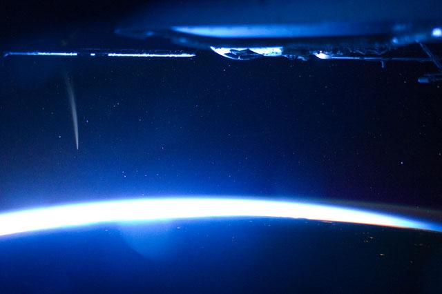 Comet Lovejoy From Space Station 3