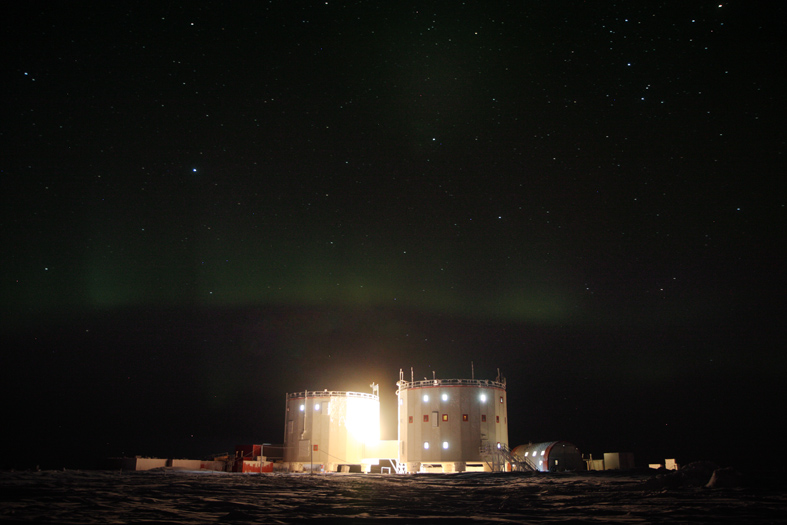 Season's Greetings From the South Pole