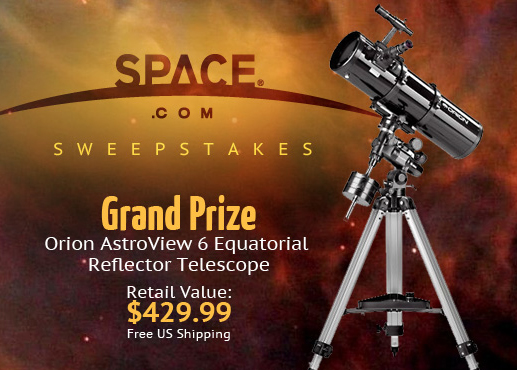 SPACE.com Announces Facebook Sweepstakes Winners