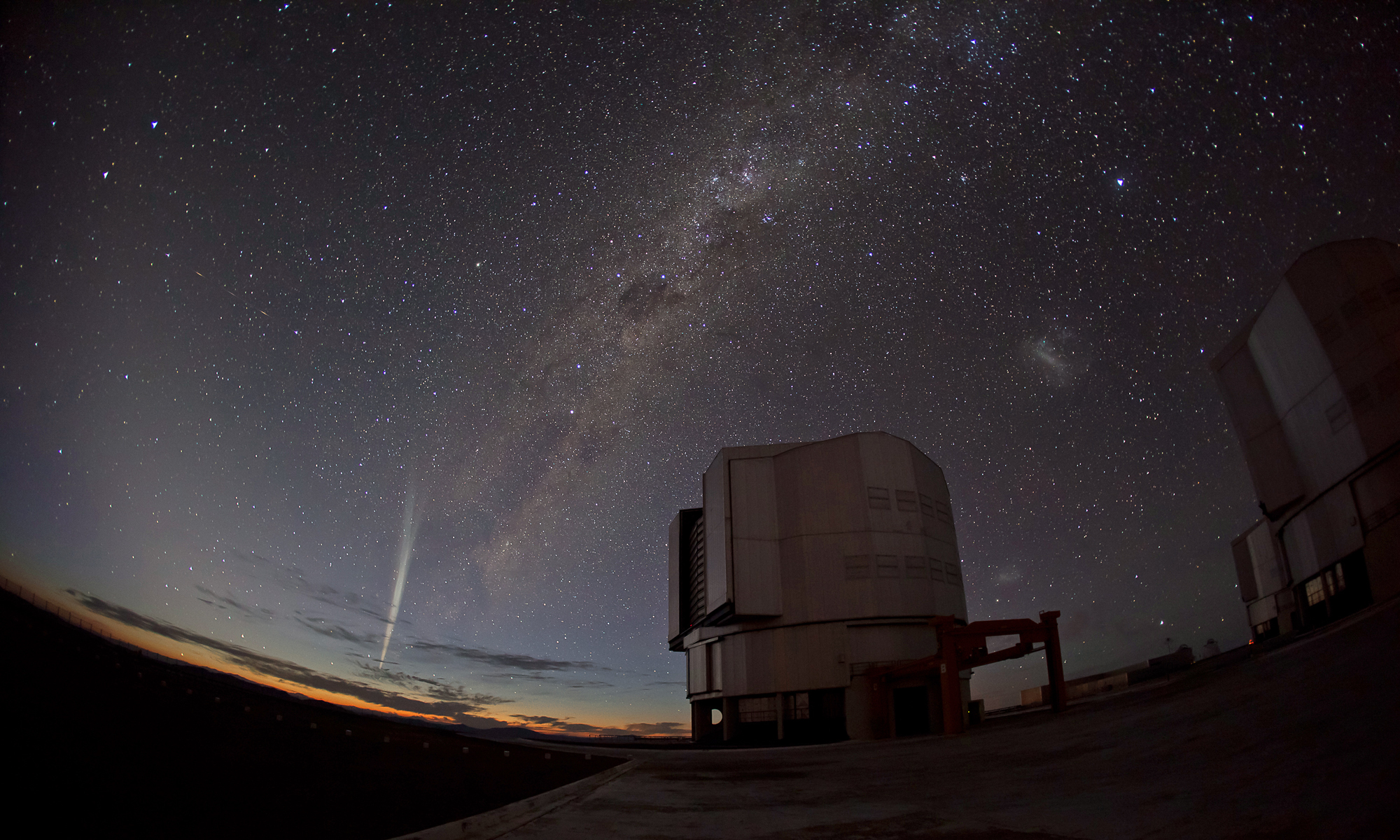 Comet Lovejoy Over Chile