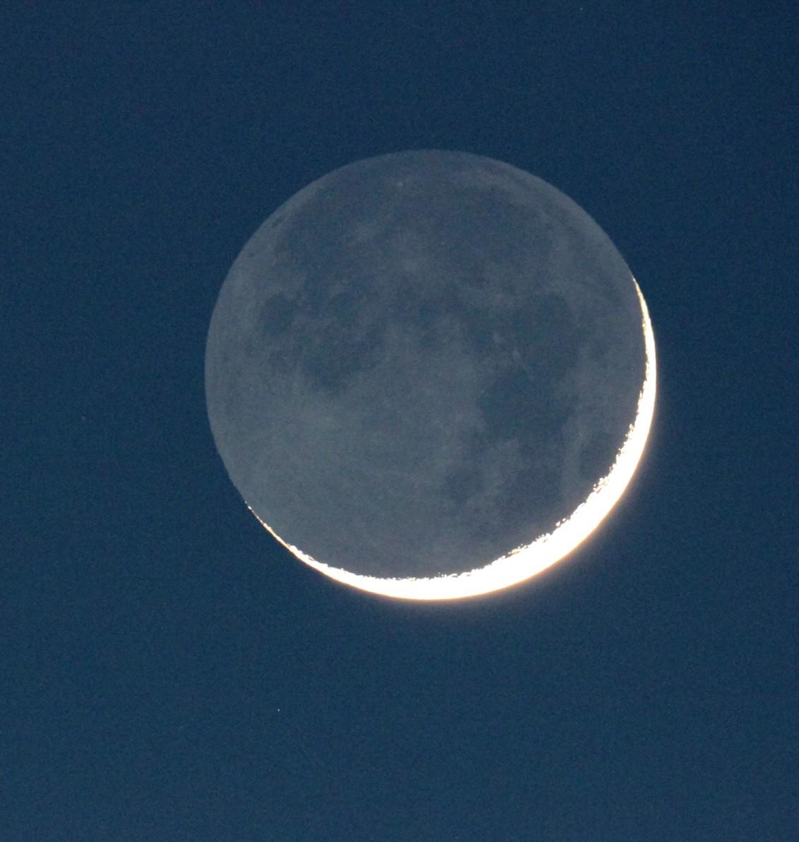 Crescent Moon Over Kent, CT