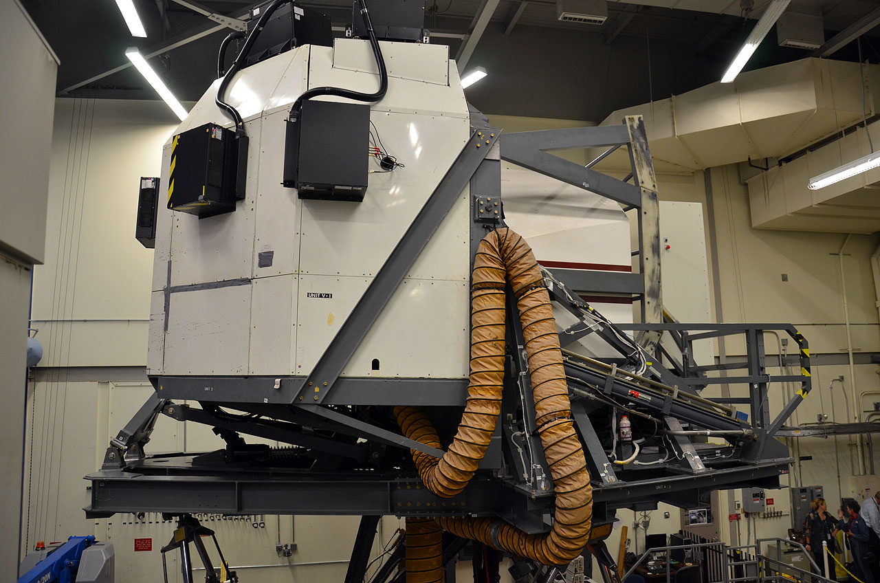 Retired Space Shuttle Simulator to 'Fly' Again at Texas A&M