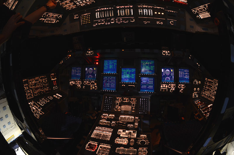 Rare Last Look Inside Shuttle Atlantis