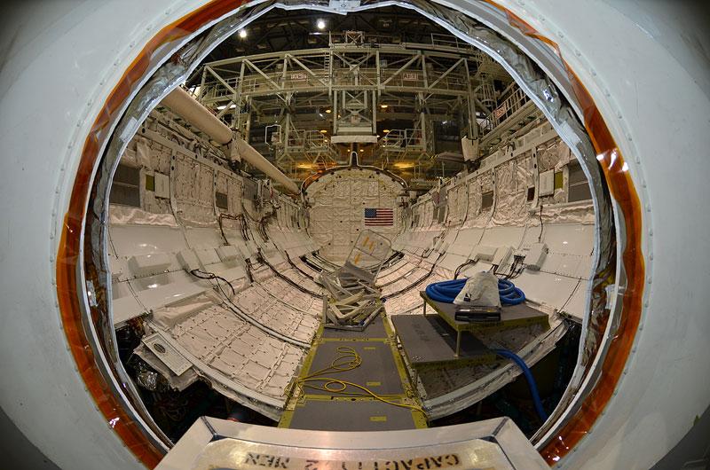 Photos: Rare Last Look Inside Shuttle Atlantis