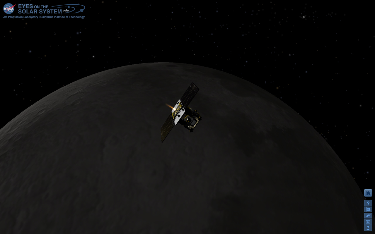 Twin NASA Moon Probes Start New Year by Entering Lunar Orbit