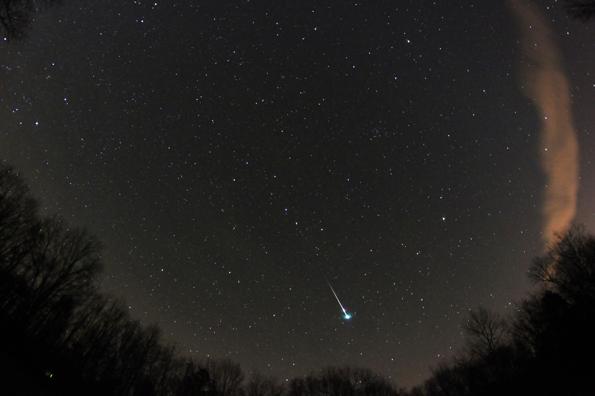 Fireball Over Arkansas
