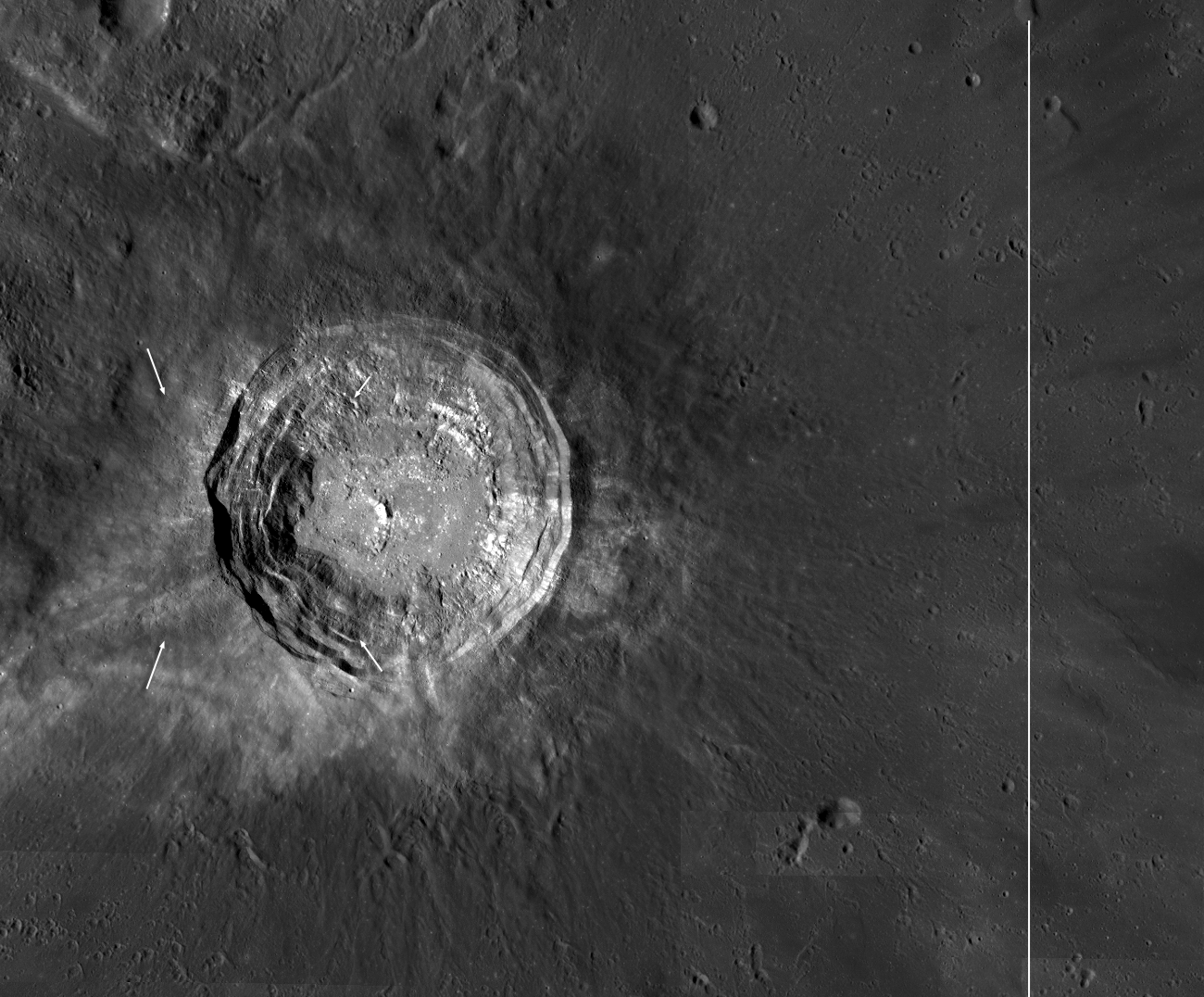 Moon's Aristarchus Crater