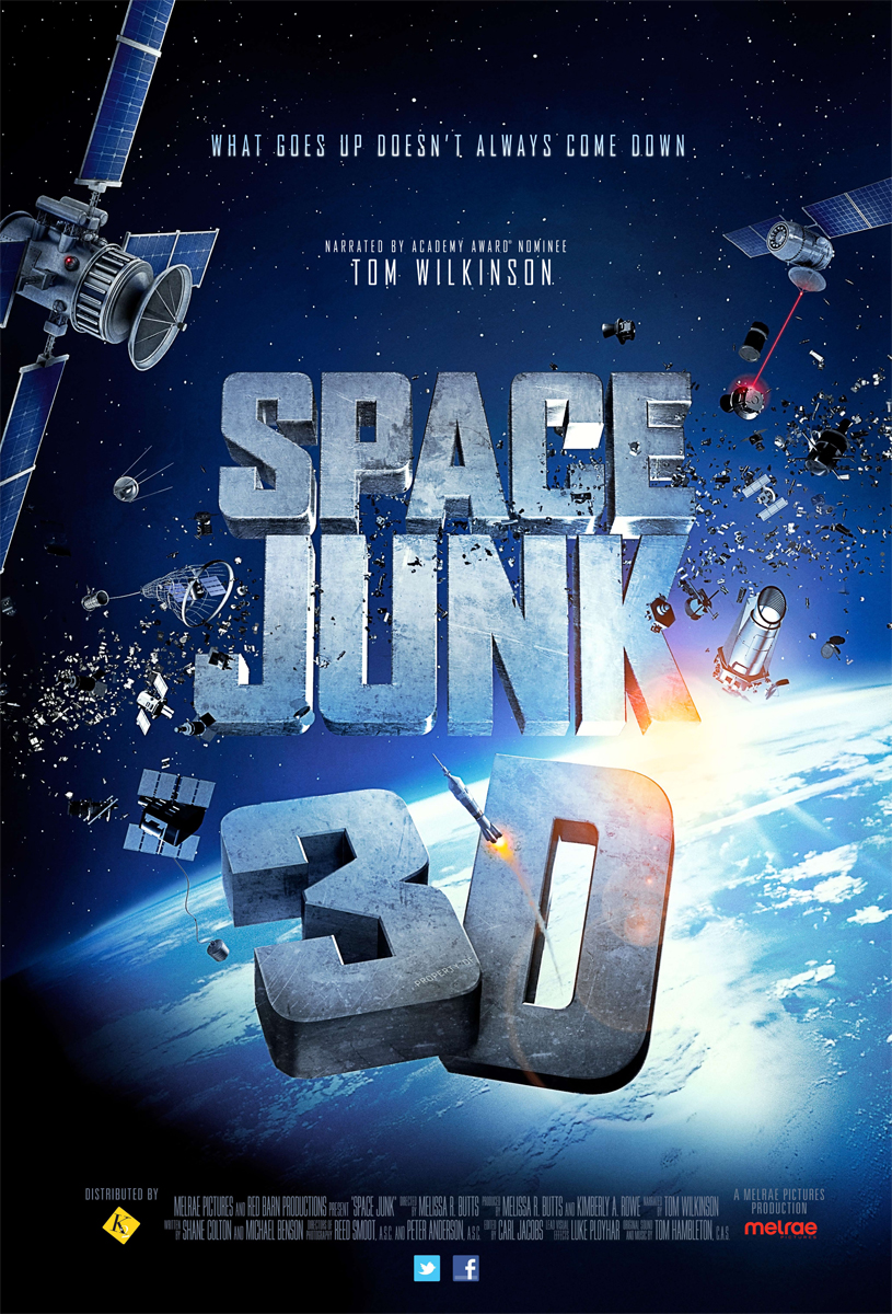 Space Junk Flies at You in New 3D Film on Debris Threat