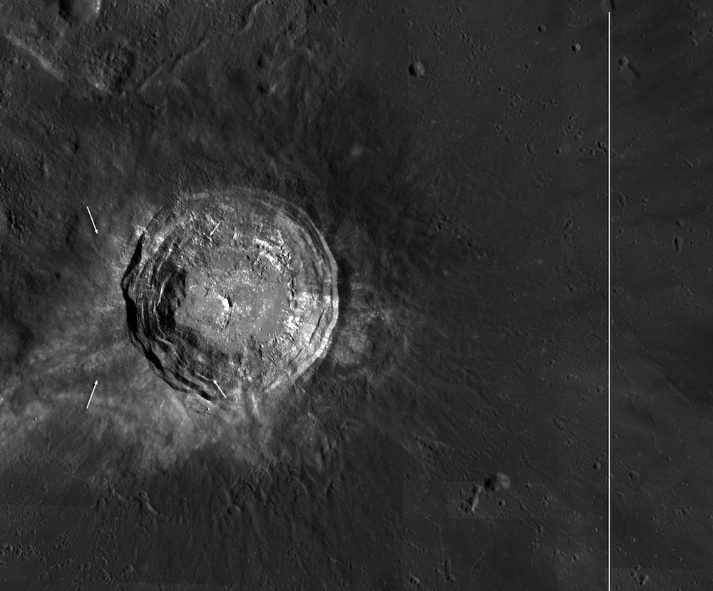 Giant Moon Crater Revealed in Up-Close Photos