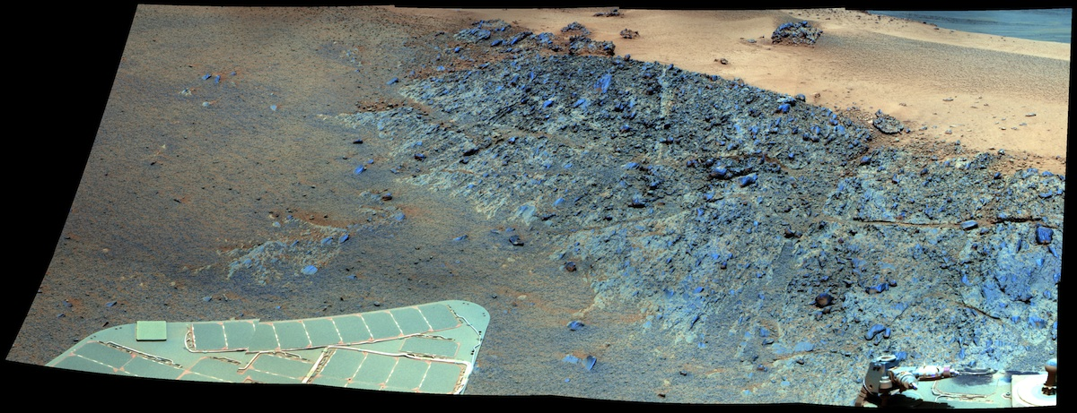 Greeley Haven, Opportunity Rover's Overwintering Site