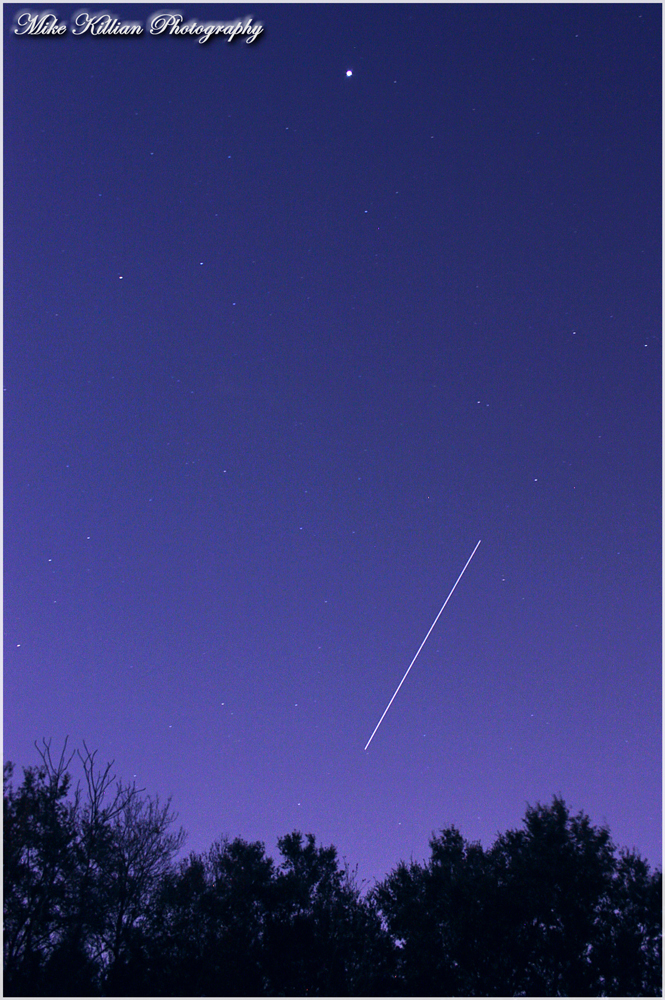 International Space Station over Central Florida