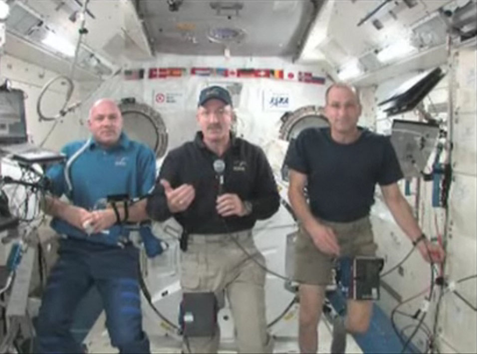 Space Station Astronauts Answer SPACE.com Readers' Questions