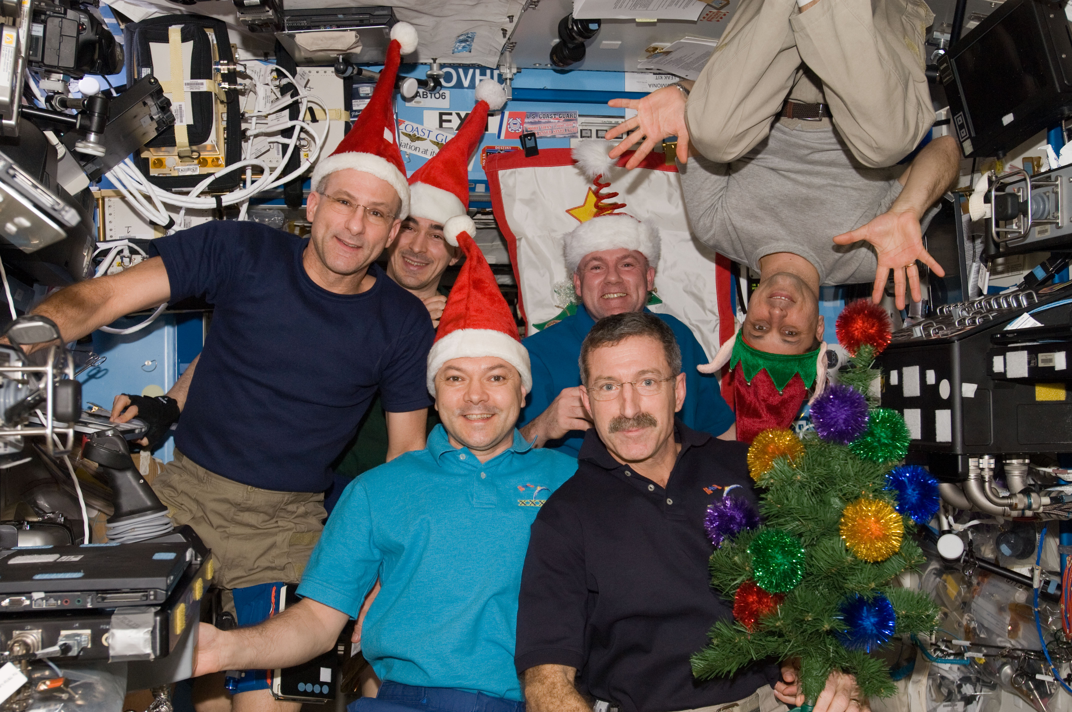 ISS Expedition 30 Crew Christmas