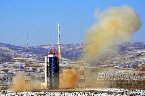 China Launches Earth-Mapping Satellite in 2012's 1st Space Mission