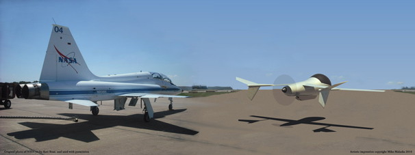 AVIATR Compared to T-38 Jet