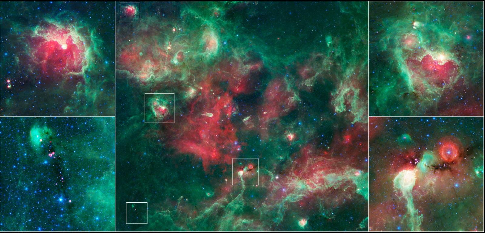 Goings On Around Star-forming Towns