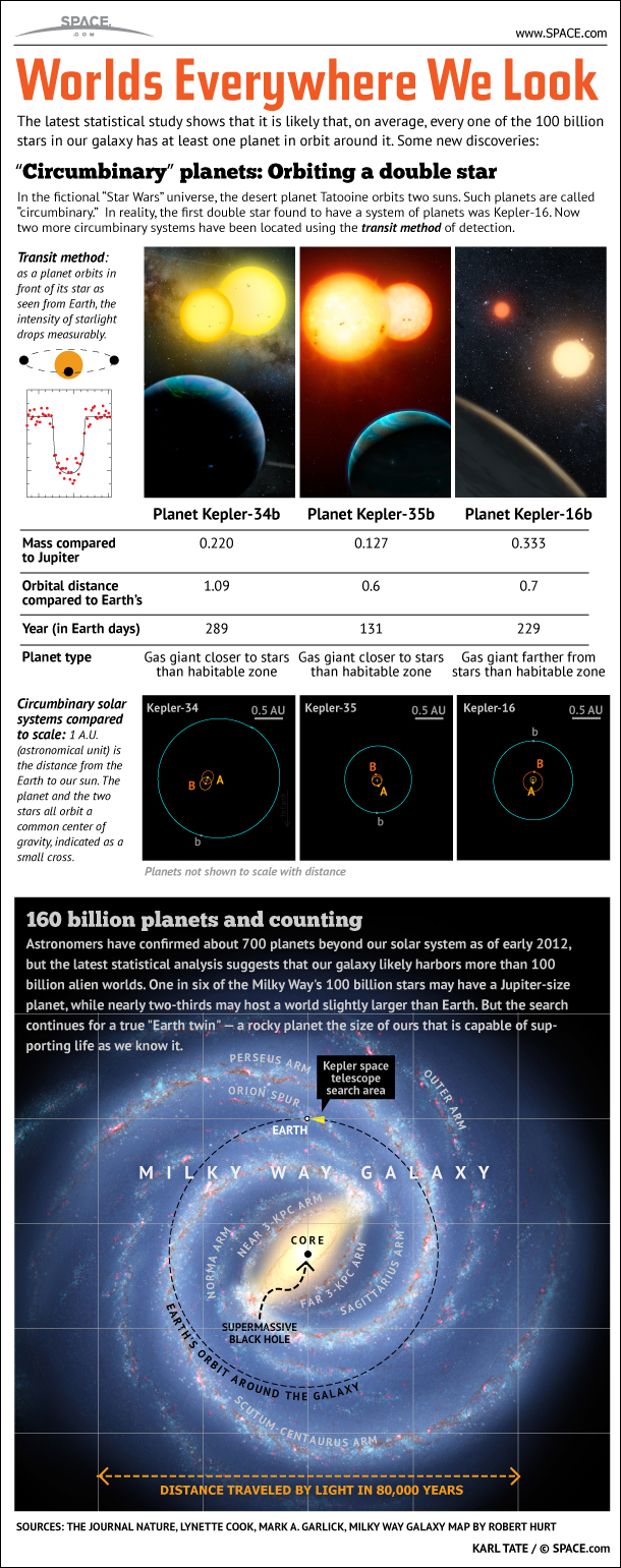A Galaxy Full of Alien Planets (Infographic)