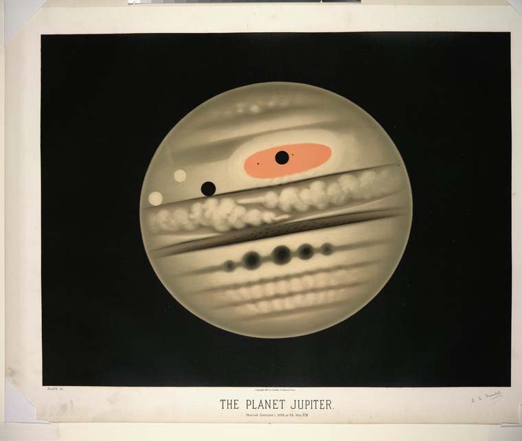 The planet Jupiter by Trouvelot