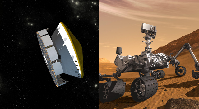 Huge NASA Rover Adjusts Course on Trip to Mars
