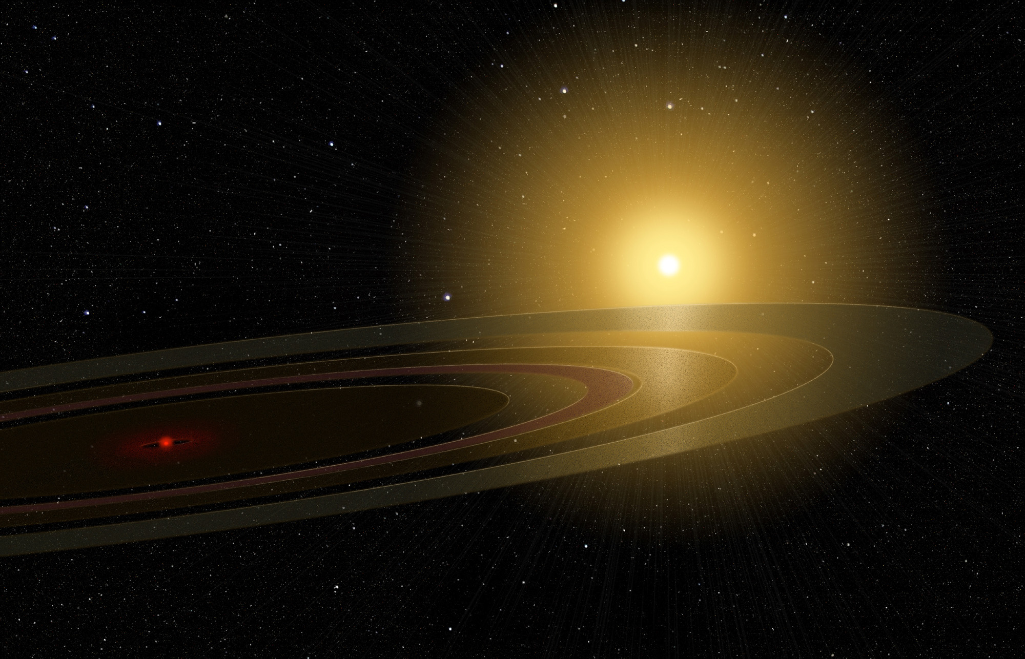 'Saturn on Steroids': 1st Ringed Planet Beyond Solar System Possibly Found