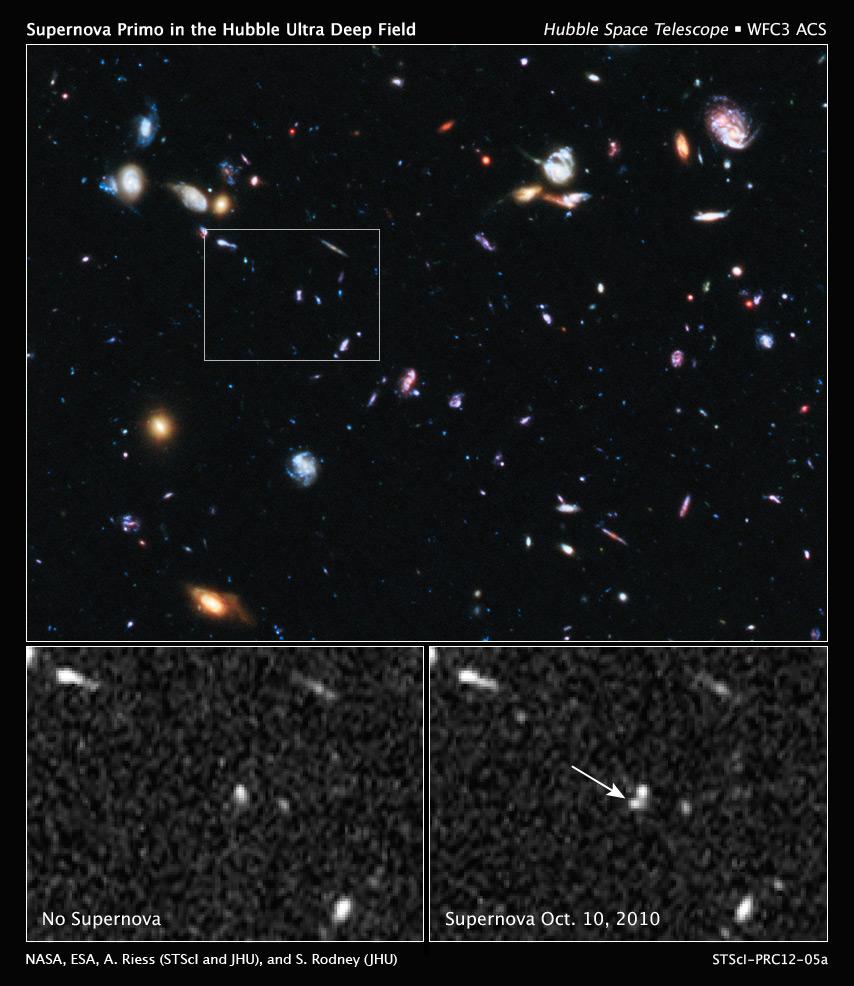 Hubble Image of Supernova SN Primo