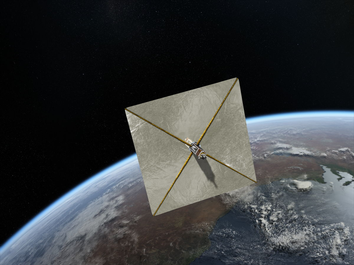 Clean-up Solution: Solar Sail