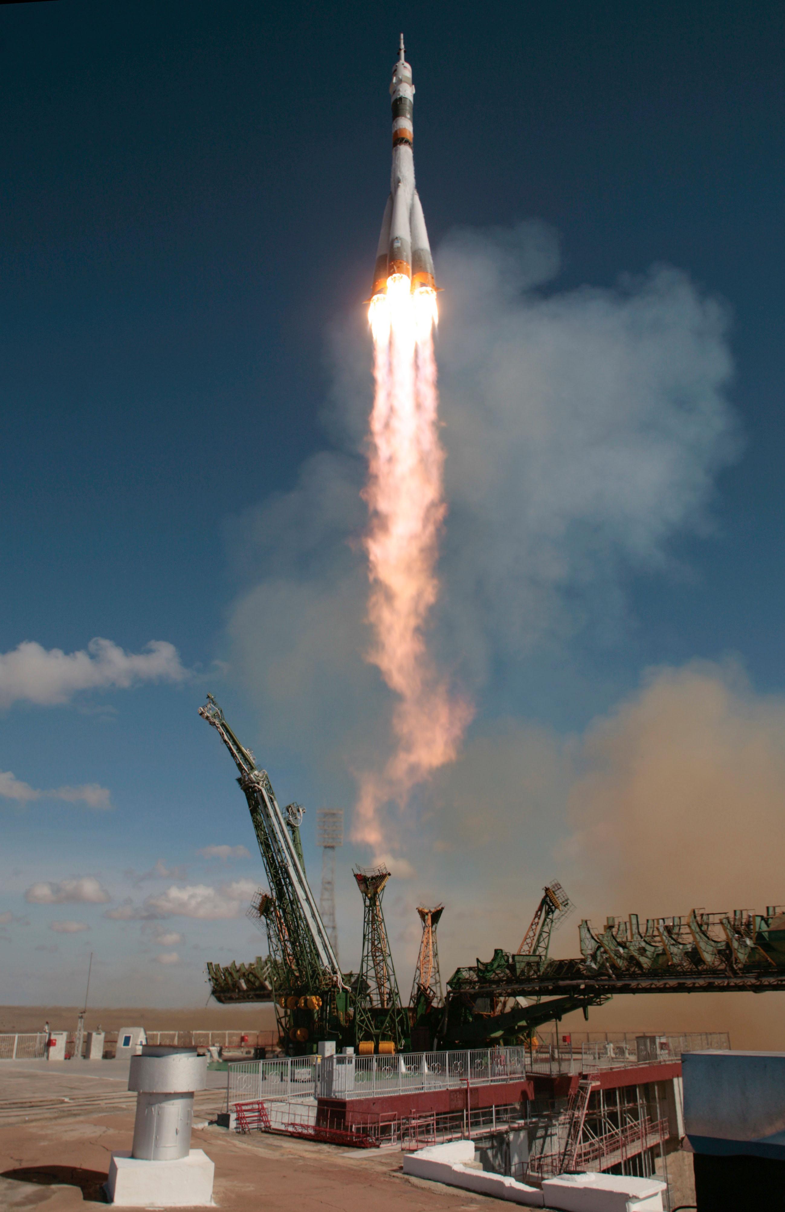 Soyuz TMA-13 Launch
