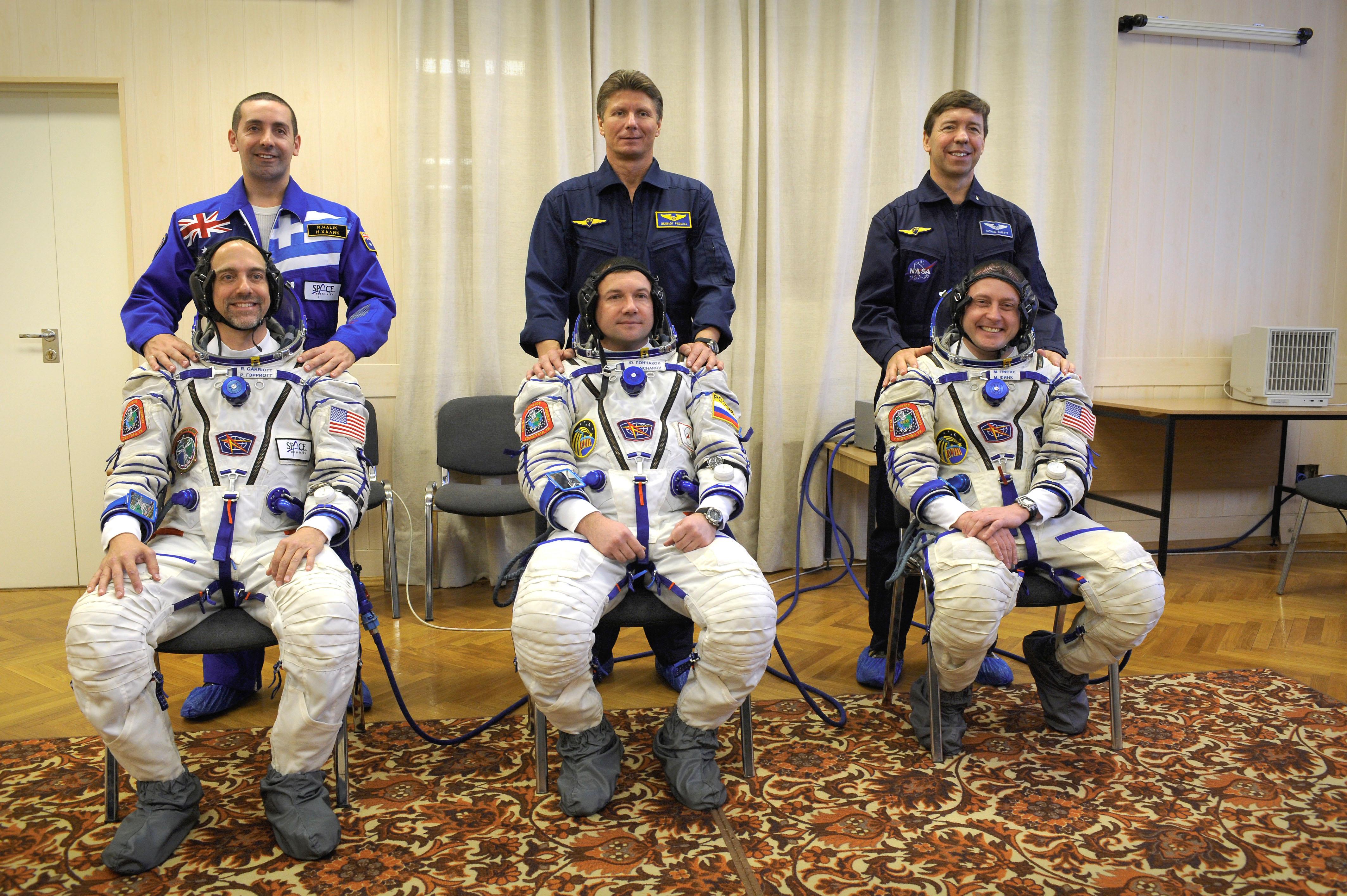 Soyuz Crew Photo