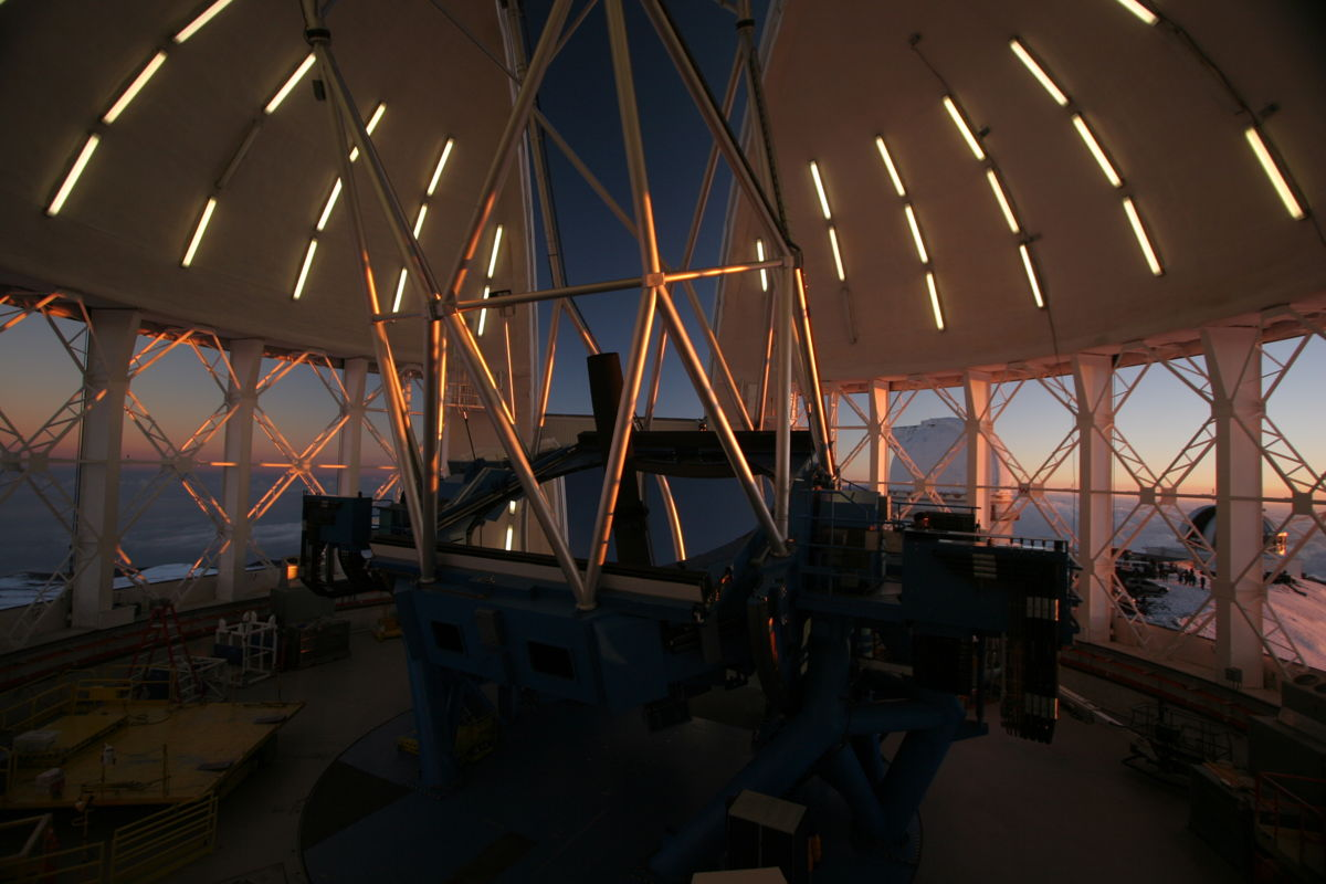 Observatory Interior from
