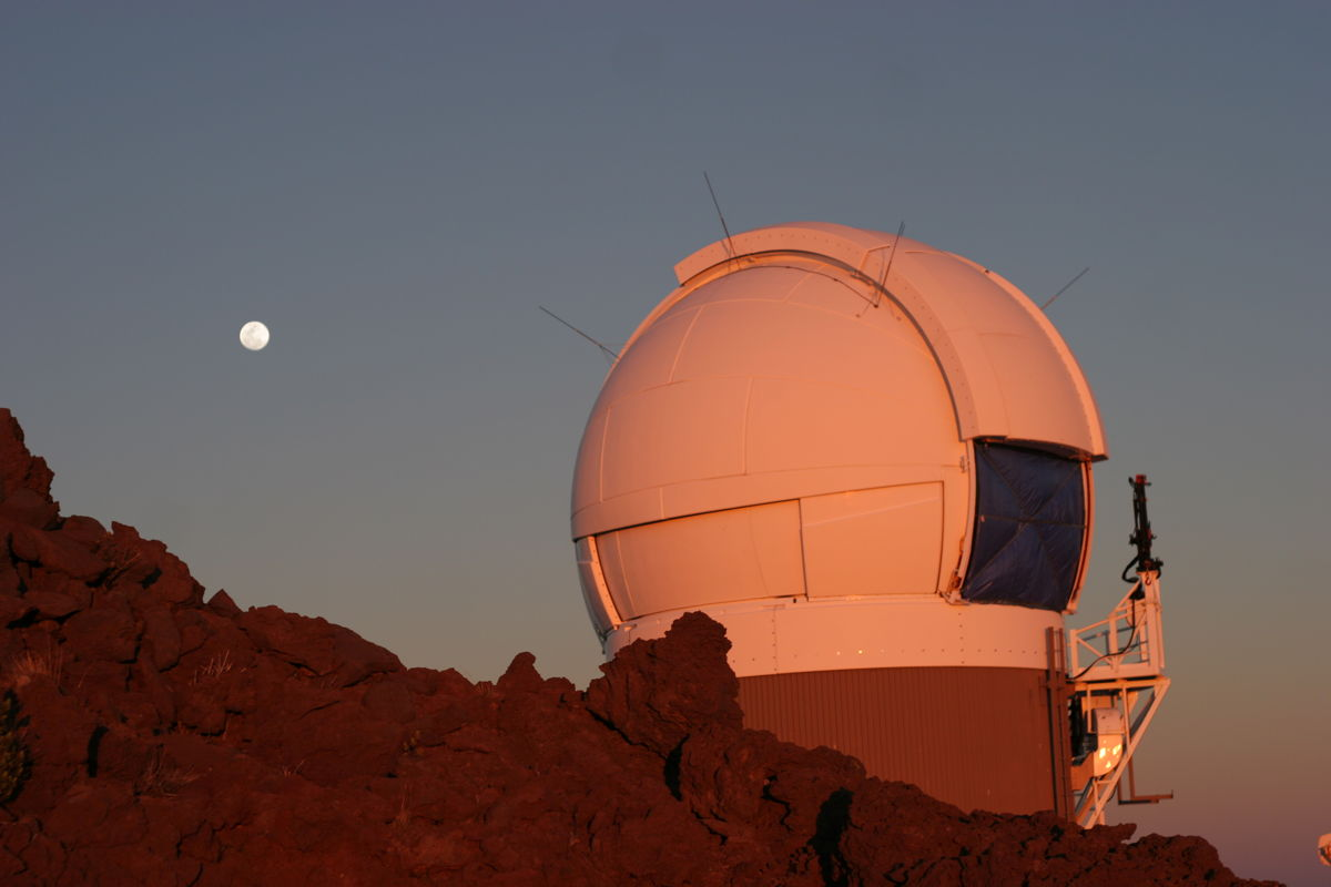 Observatory in Hawaii from