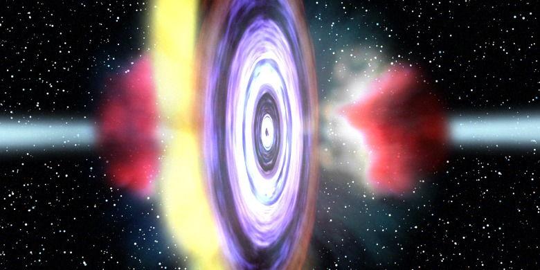 Bullet-shooting Black Hole