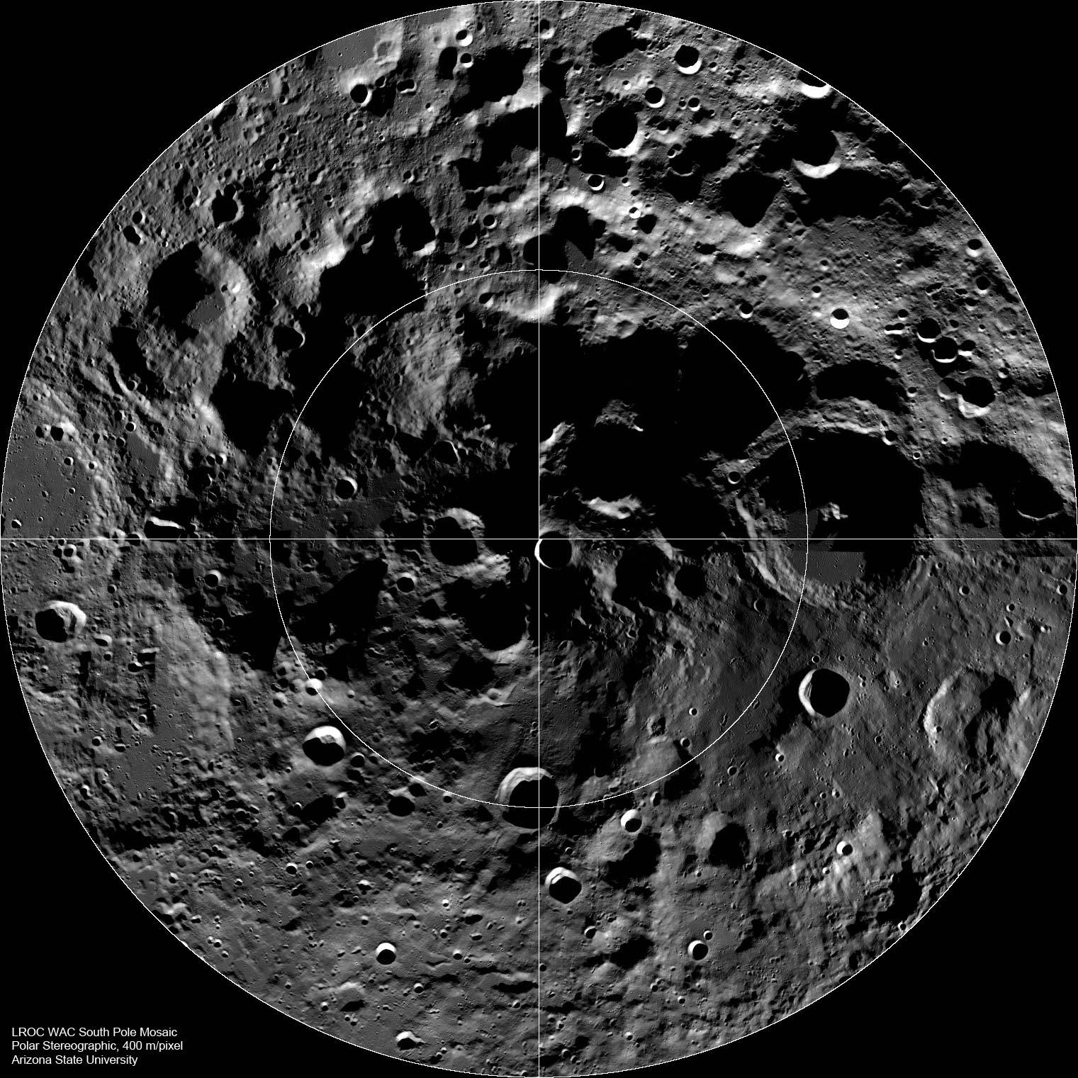 Moon's Permanently Shadowed Regions