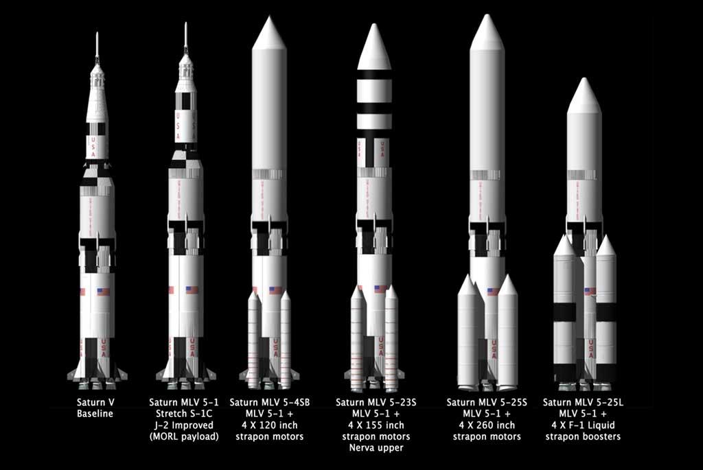 Saturn Rockets