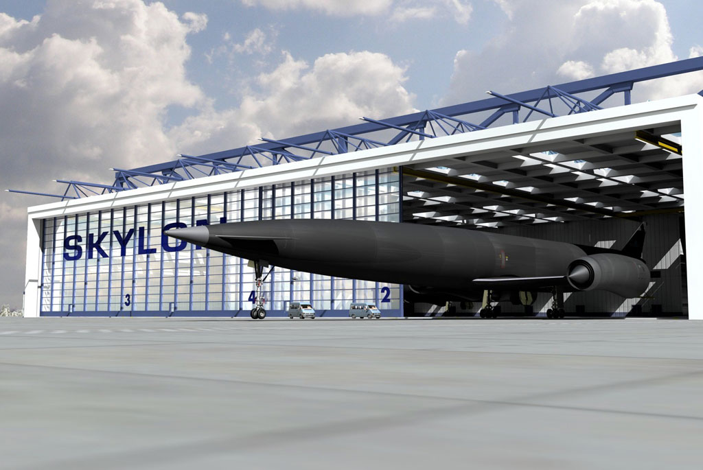 Skylon in the Hangar
