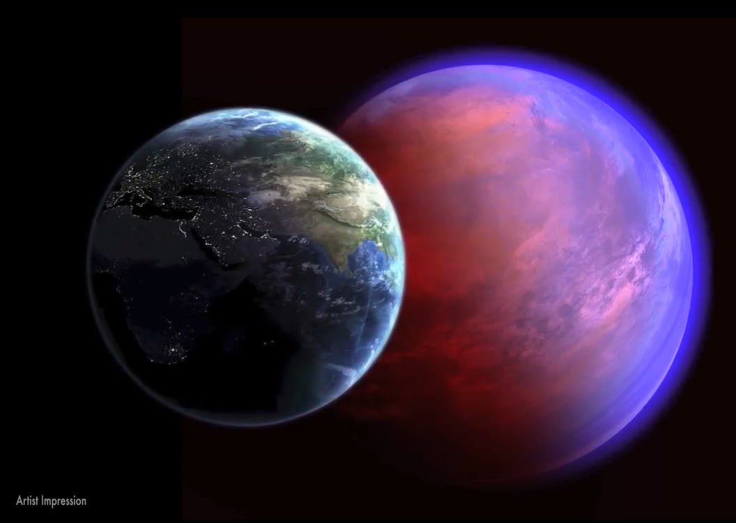 Alien Planet 55 Cancri e