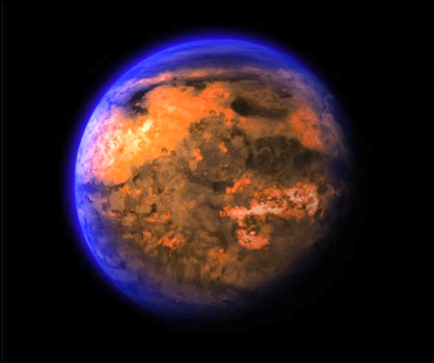 Alien Planet 55 Cancri e - A Weird, Oozing World
