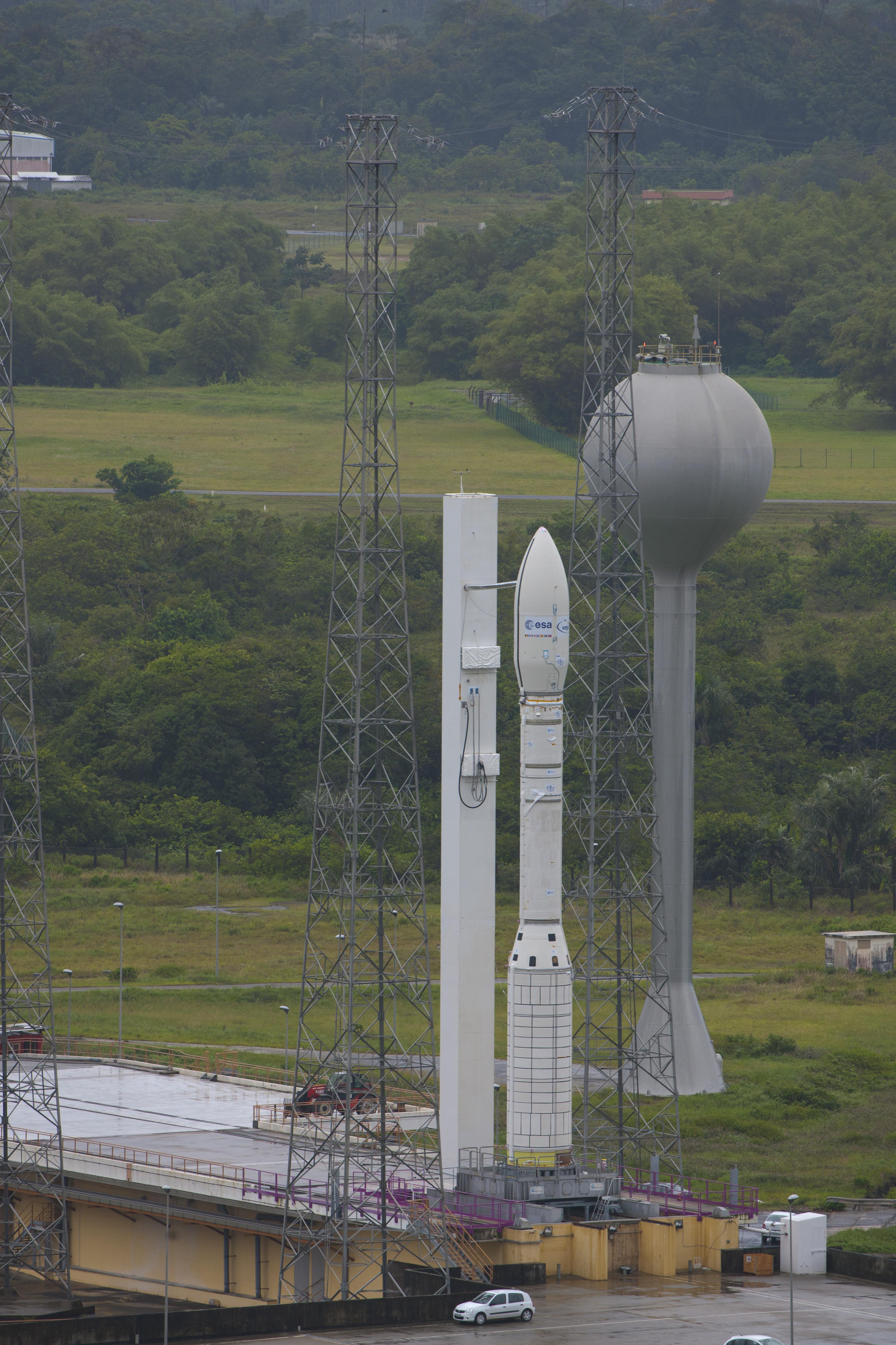 Vega in Launch Zone