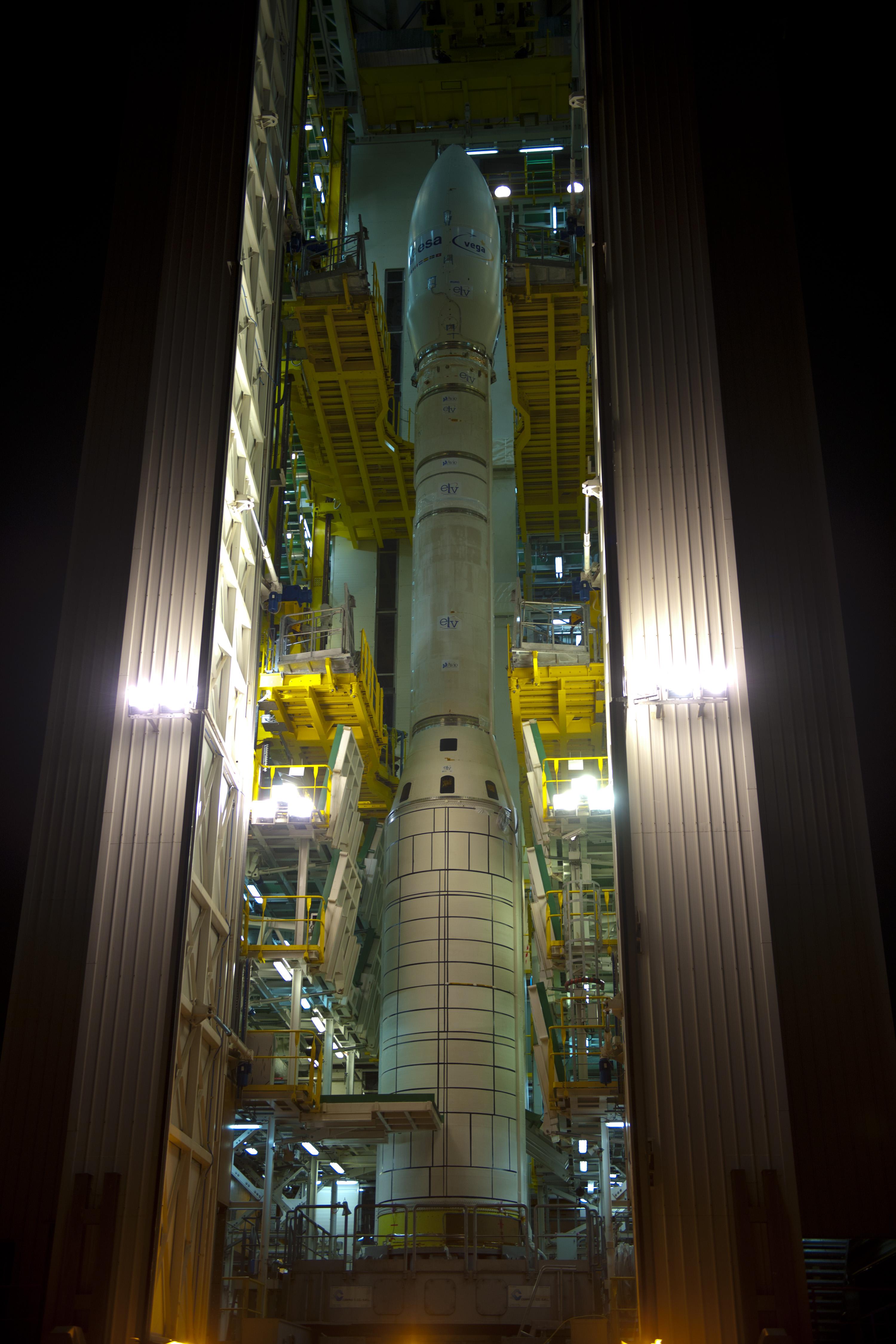 Vega in Mobile Gantry