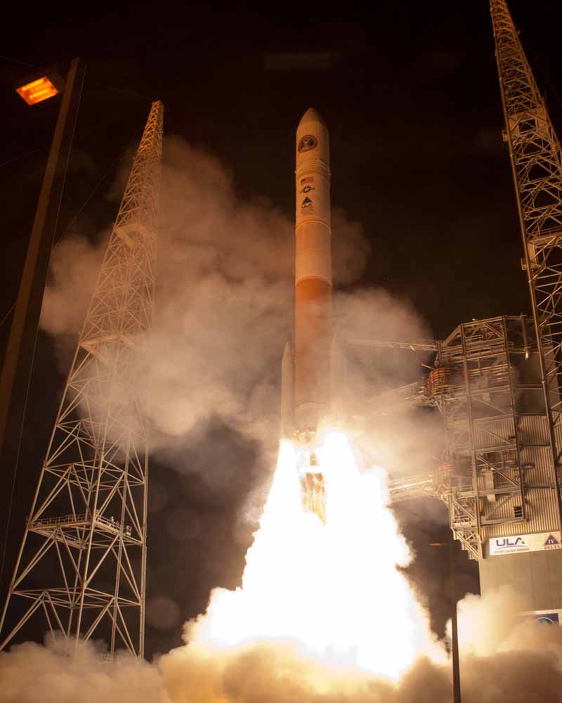 Wideband Global SATCOM-4 Satellite Launch 1
