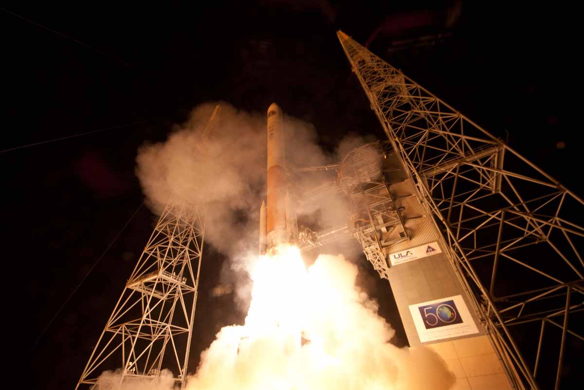 Air Force Launches New Military Communications Satellite Into Orbit