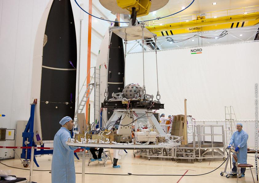 LARES Satellite in Preparation