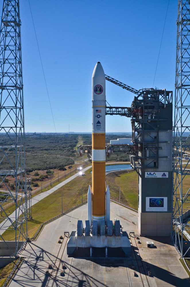 Delta 4 Rocket Carrying Wideband Global SATCOM-4 Satellite 8