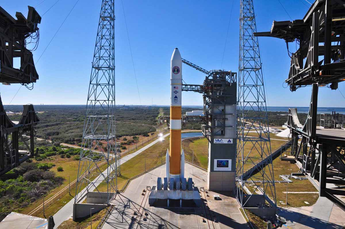 Delta 4 Rocket Carrying Wideband Global SATCOM-4 Satellite 13