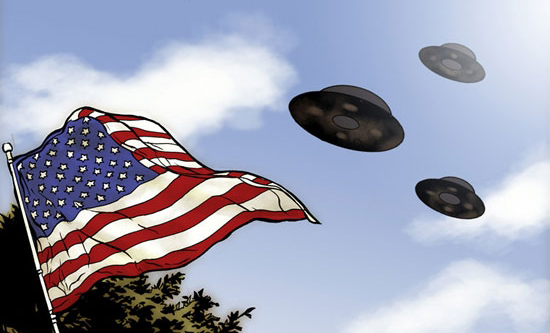 Politics, Sci-Fi & UFOs Converge in 'Saucer Country'