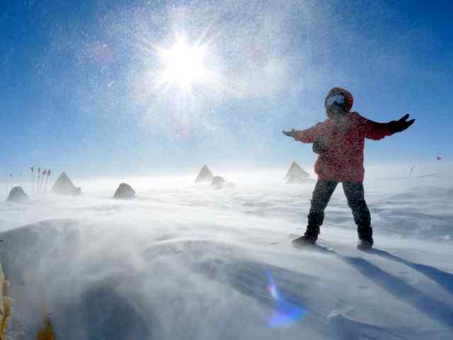 Hundreds of Meteorites Uncovered in Antarctica