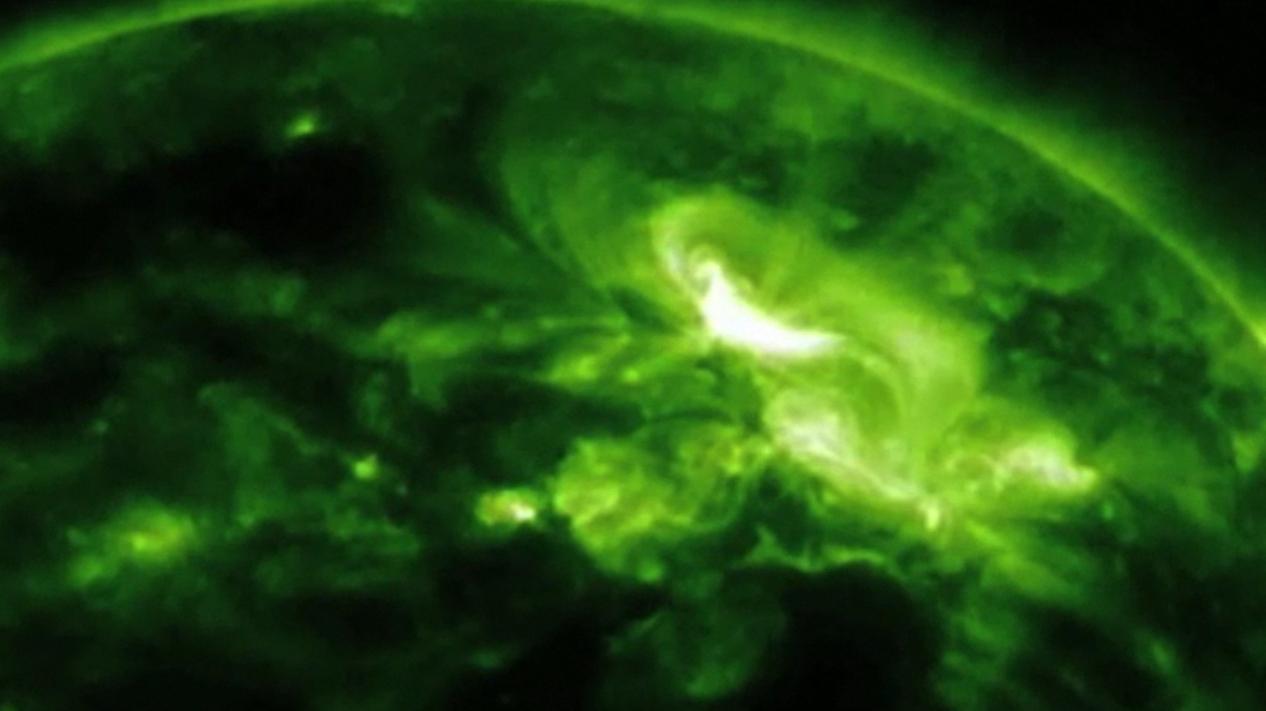 M9-Class Solar Storm of Jan. 23, 2012