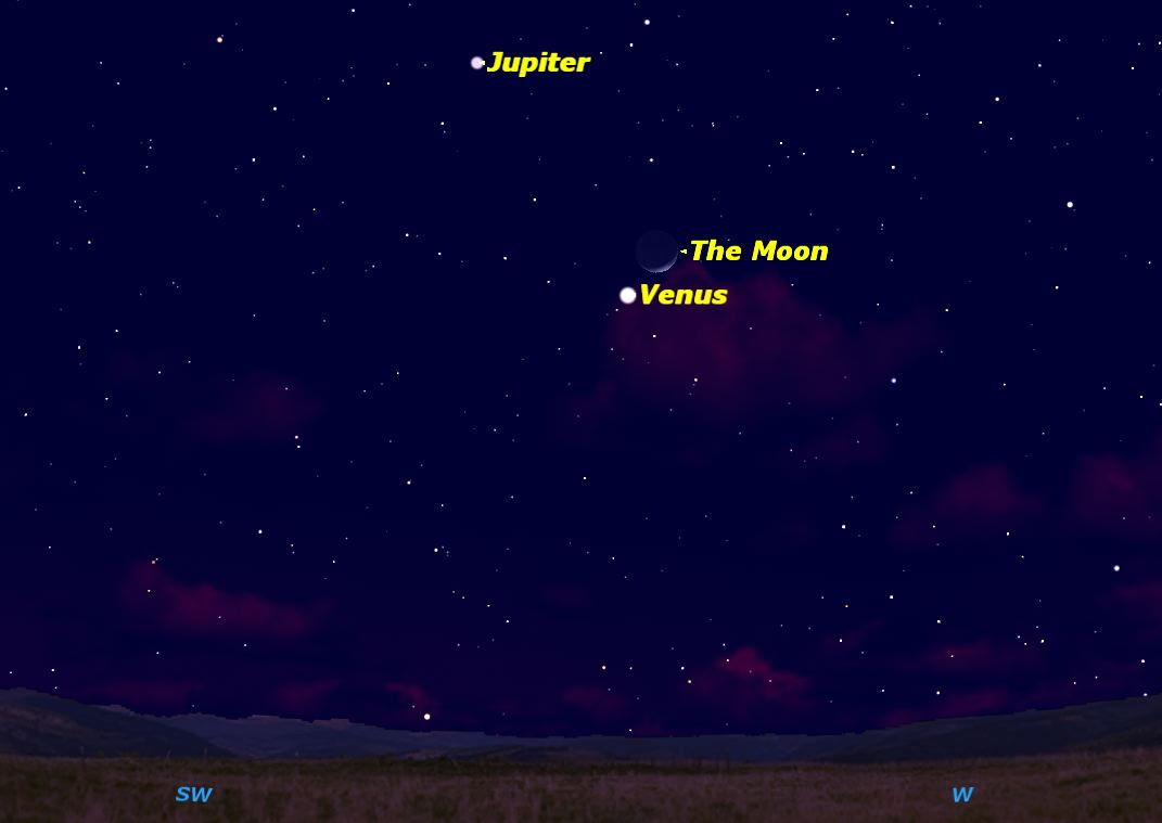 Jupiter, Venus & Moon Line Up This Weekend: How to Watch Online